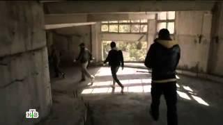 Сцена драки из сериала