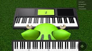 [PK] Roblox Piano Test: Megalovania (Mobile/IPad Run)