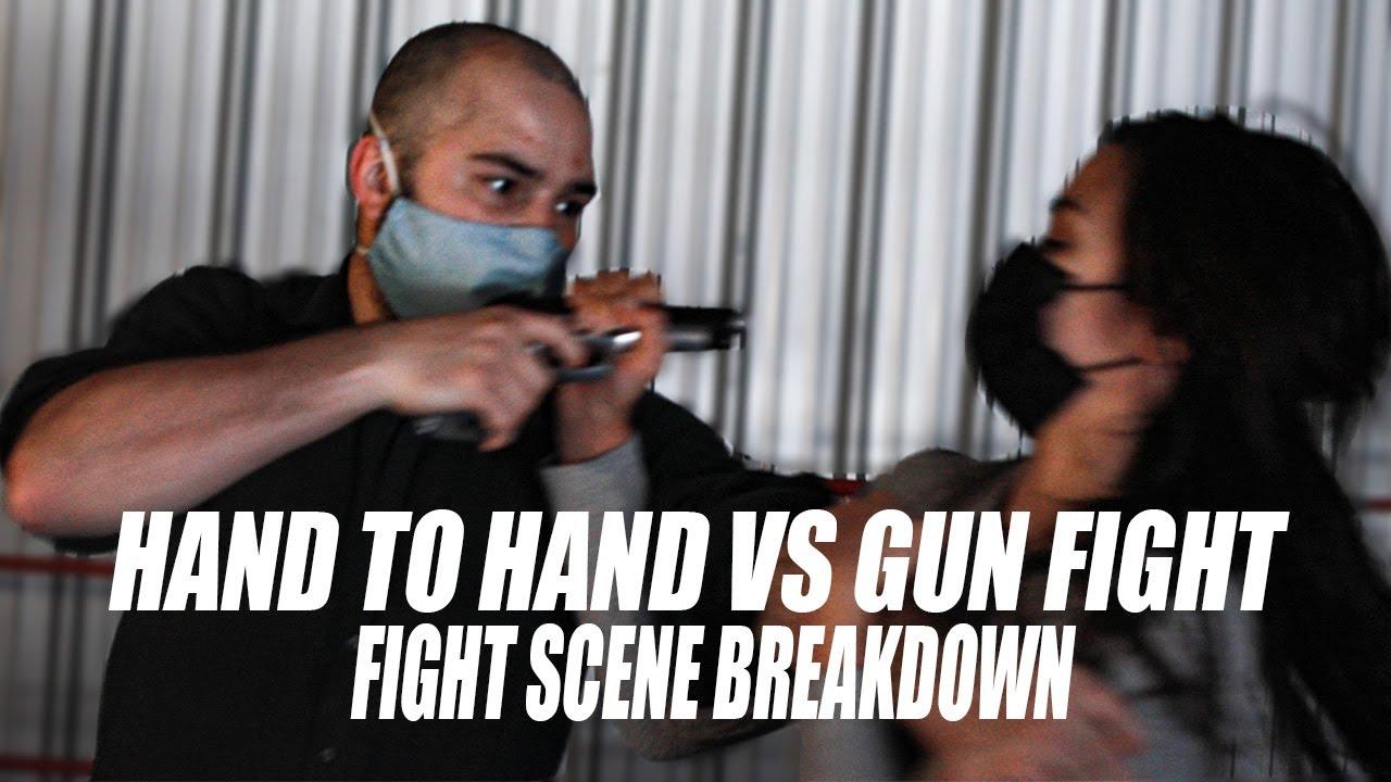 HAND TO HAND VS GUN FIGHT