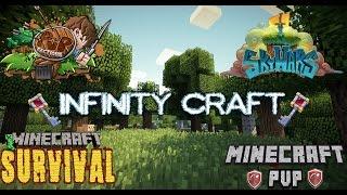 Server Minecraft 1.11 | SkyBlock/PVP/Survival/Creativo | InfinityCraft