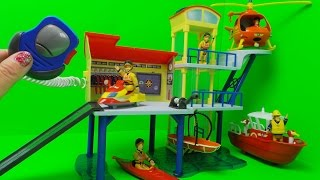 Firefighter Fireman Sam Strażak Sam - Ocean Rescue Centre / Stacja Ratownicza Simba Toys 1663038