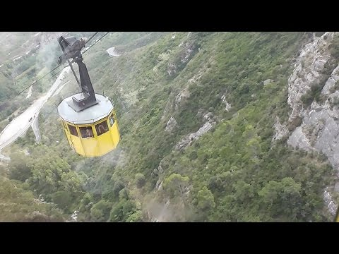 Our Cable Car Ride to Montserrat Spain