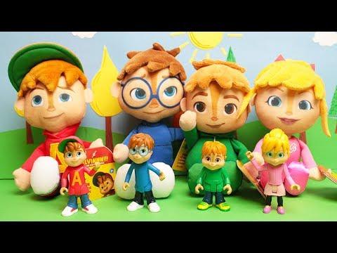 ALVIN e i CHIPMUNKS - I Peluche giganti di Alvin e i suoi amici