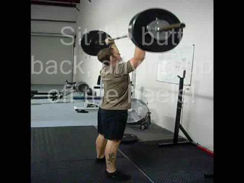 Barbell Thrusters are one of the best CrossFit exercises for YOU and YOUR training.