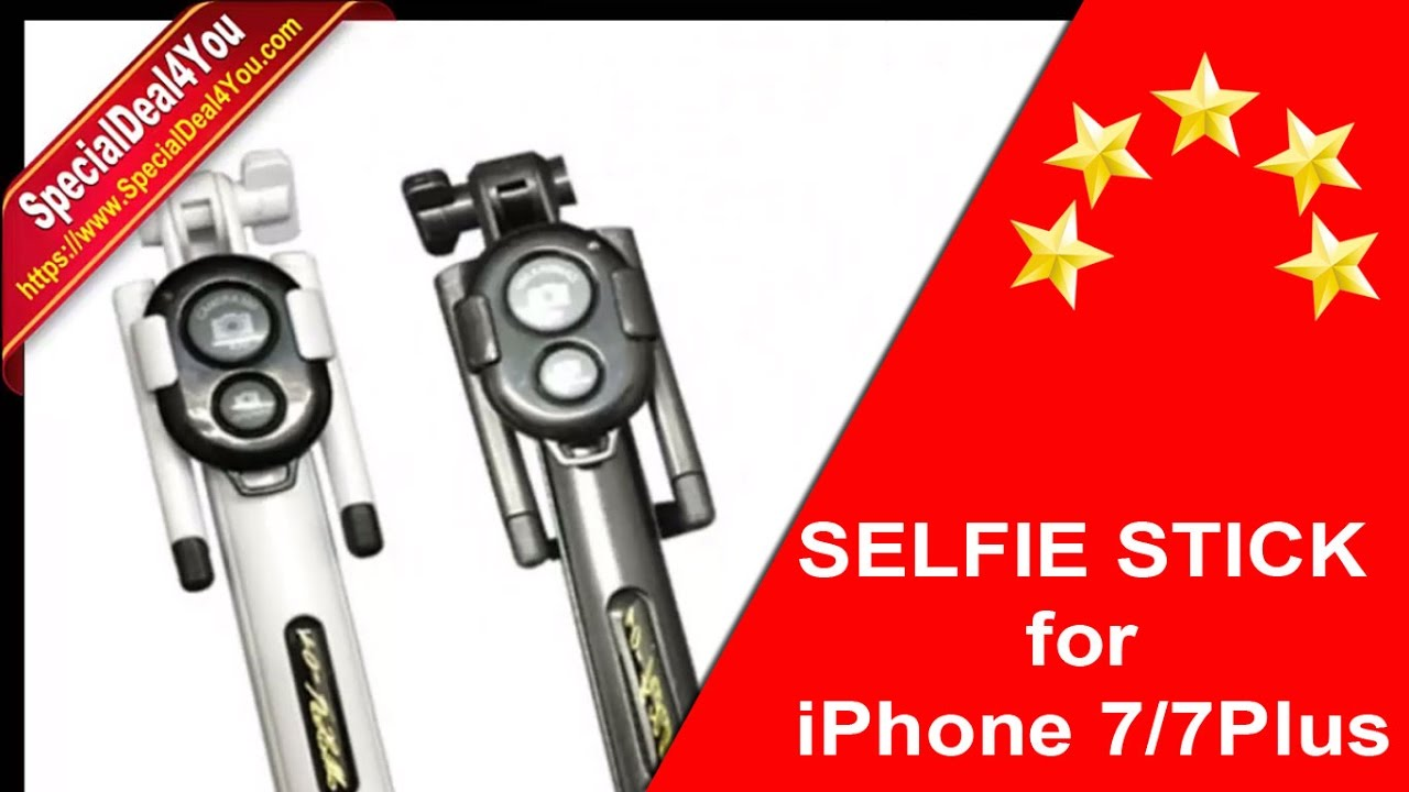 promo code 8f8e3 49fbf Best Selfie Stick for iPhone 7 and 7 Plus Review 2017 | iPhone Bluetooth  Selfie Sticks