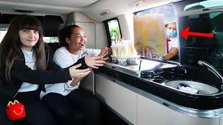McDonalds Drive Thru In Our House On Wheels | VAN LIFE