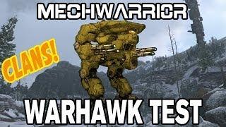 MechWarrior Online Clan Invasion: Warhawk (Masakari) - First Look