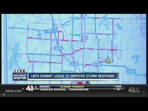Lee's Summit prepares roads ahead of winter storm