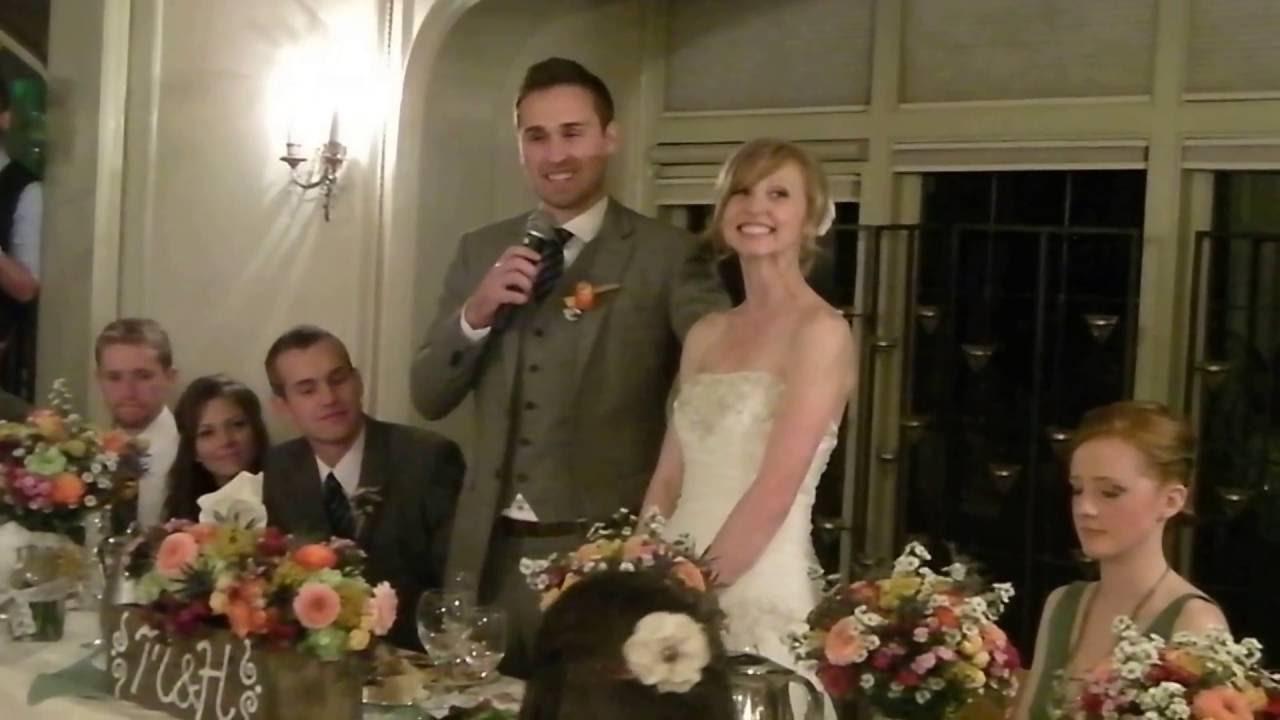 Grooms Speech To Bride Examples: Bride And Groom Speech