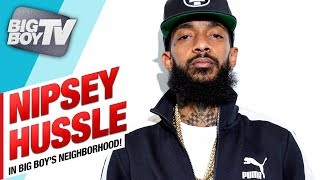 Nipsey Hussle Celebrates Release of