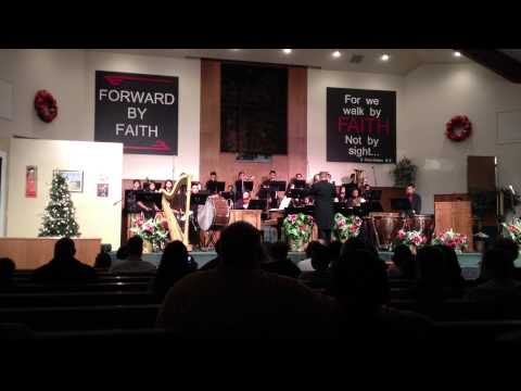 Liberty Baptist School Band-- Angels from the Realms of Glory