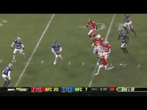 Schoolyard Football at the Pro Bowl