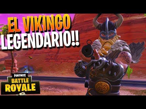 EL VIKINGO LEGENDARIO!! | FORTNITE Battle Royale | Rubinho vlc