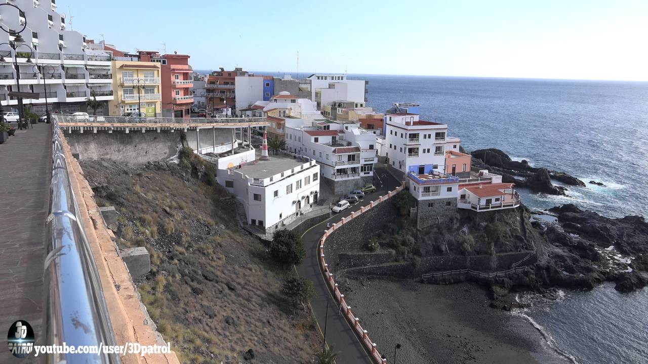 4k puerto de santiago playa de la arena tenerife canary islands spain in uhd youtube - Puerto santiago tenerife mapa ...