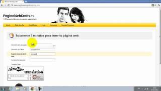 Tutorial Loquendo - Como Crear Una Pagina Web Gratis