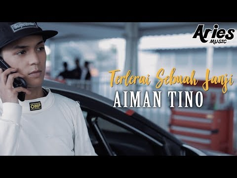 Aiman Tino - Terlerai Sebuah Janji (Official Music Video with Lyric)