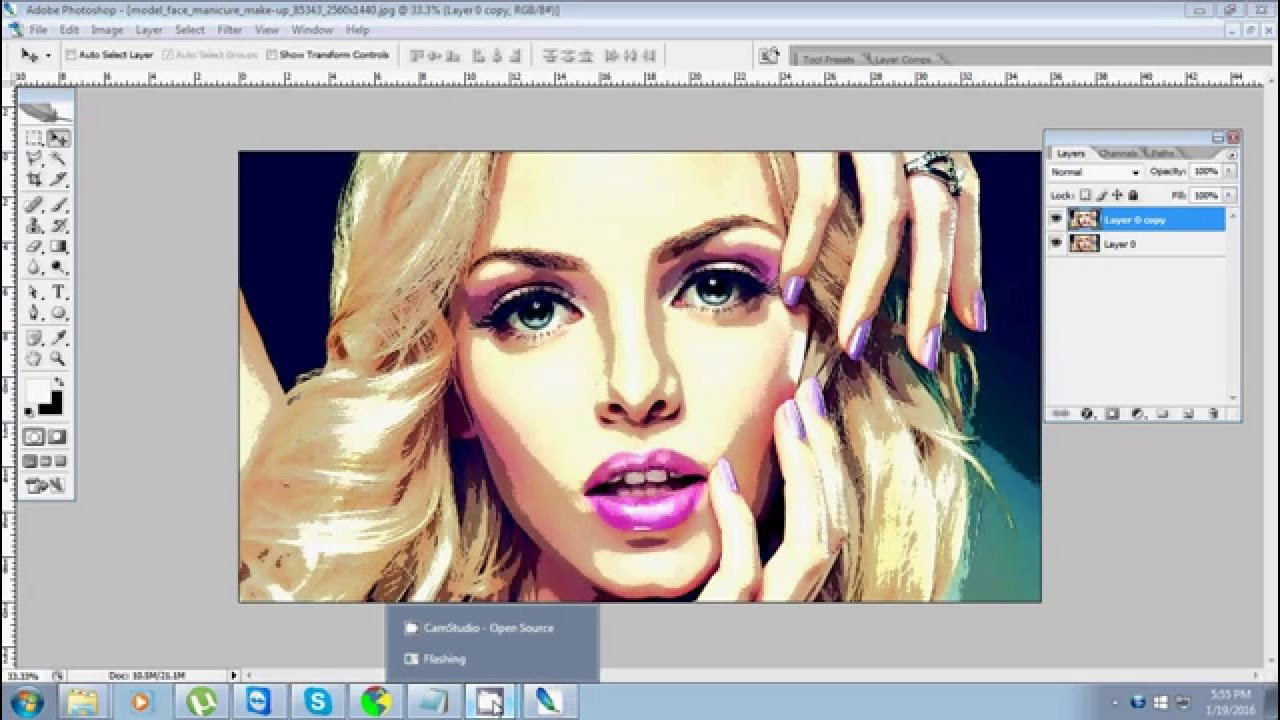 How To Create Quick Vector Art In Photoshop