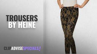 Top 10 Heine Trousers [2018]: Heine Trousers Jacquard Pants Ladies by
