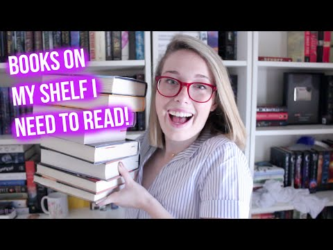 Books on my Shelf I Need to Read: Middle Grade Edition!