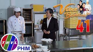 image Vua bánh mì - Tập 41[1]: Ông Đạt ân cần dạy Nguyện cách nướng bánh không bị nứt khiến cậu cảm động