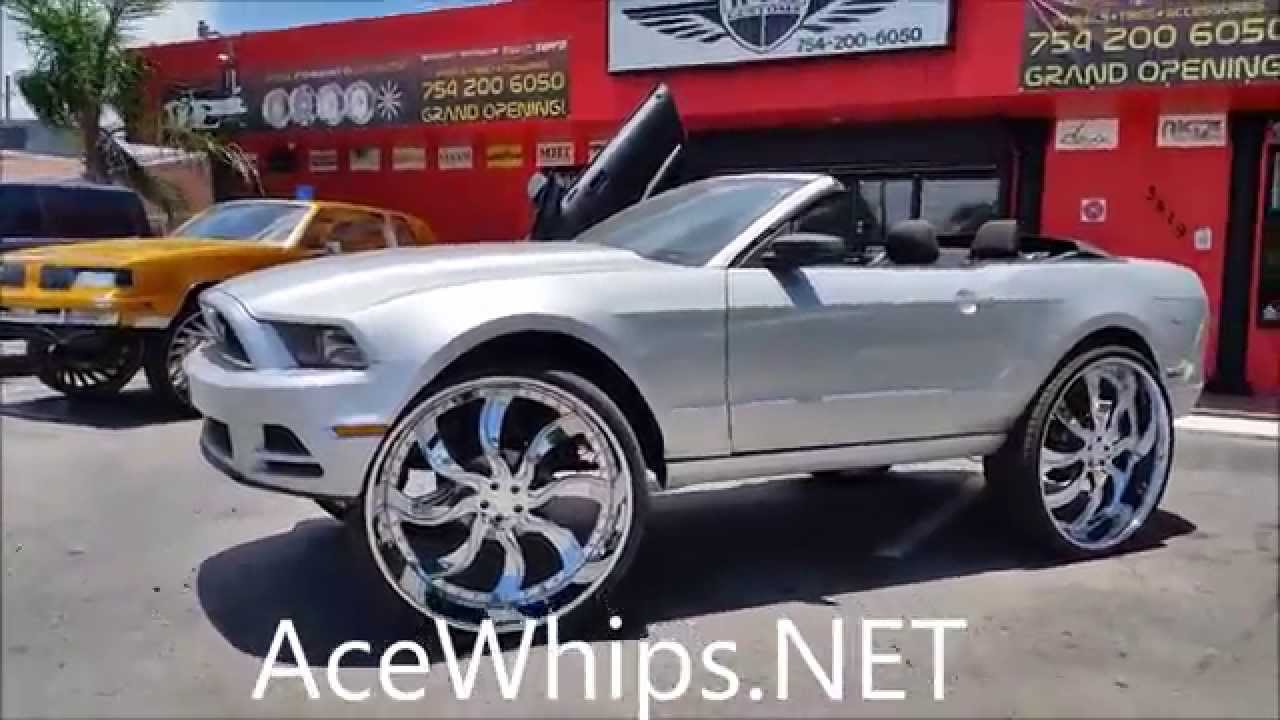Acewhips Net Memphis Ford Mustang Vert On 32 Quot Amani By