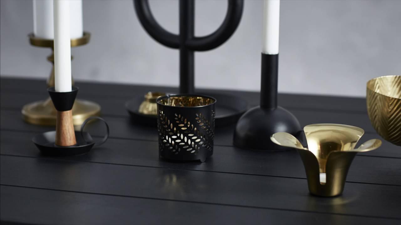 ikea kerzen deko leicht gemacht youtube. Black Bedroom Furniture Sets. Home Design Ideas