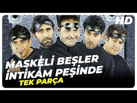 Maskeli Beşler: İntikam Peşinde | Şafak Sezer Türk Komedi Filmi | Full Film İzle (HD)