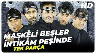 Maskeli Beşler İntikam Peşinde  Şafak Sezer Türk Komedi Filmi  Full Film İzle (HD)