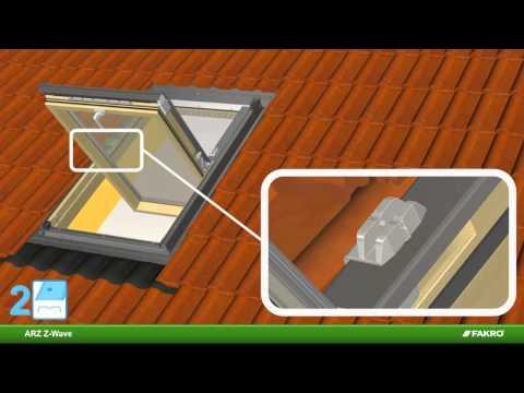 Fakro le volet ext rieur arz z wave pour les fen tres de toit for Fakro fenetre de toit