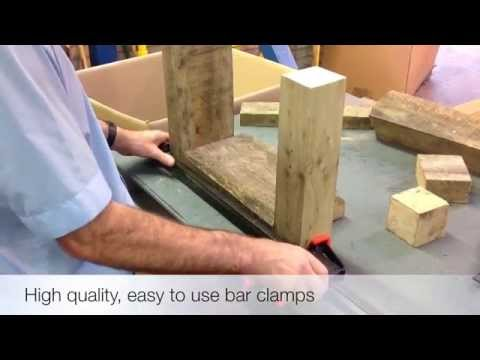 Quick Release Bar Clamps