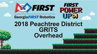 2018 PCH District GRITS - Overhead Camera - Qualification Match 14