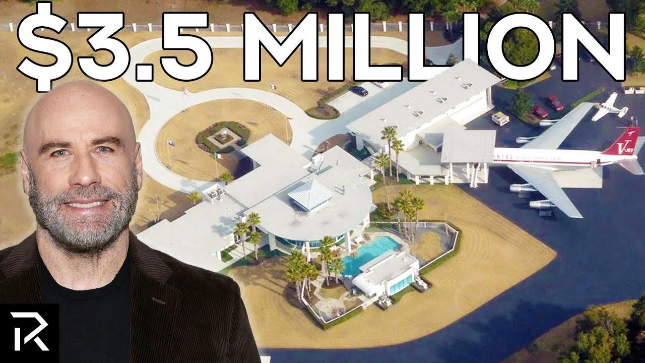 Download A Look Inside John Travolta's Airport Mansion
