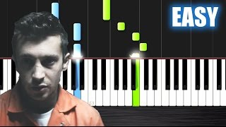 Twenty One Pilots Heathens From Suicide Squad EASY Piano Tutorial By PlutaX