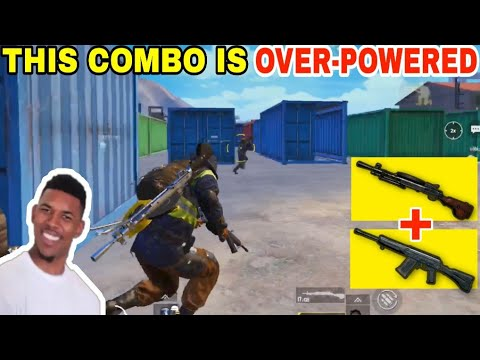 USING AN OVER-POWERED COMBINATION • (15 KILLS) • PUBG MOBILE GAMEPLAY (HINDI)