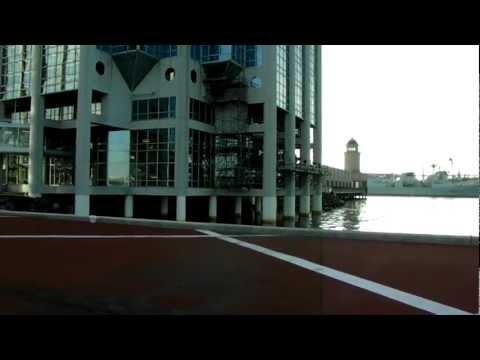 HD Royal Canadian Navy Ship & Halifax Harbor  & Waterfront Casino Nova Scotia Canada