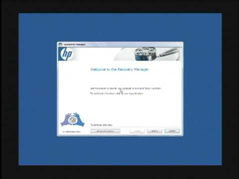 computer tech lessons how to restore an hp computer to factory