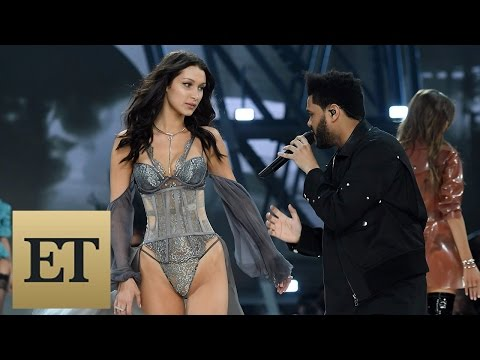 Bella Hadid Reunites With Ex-Boyfriend The Weeknd on Victoria's Secret Runway -- See the Sexy Pic…