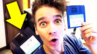 REACTING TO MY OLD FLOPPY DISKS