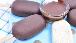 ไอศกรีมวานิลลาเคลือบช็อกโกแลต | Chocolate Covered Vanilla Ice Cream