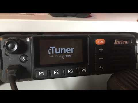 How I listen to the Police or FM Radio with the Inrico TM-7