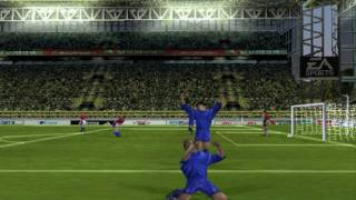 Fifa 2001 Mode World Cup Japan Game Play PSX