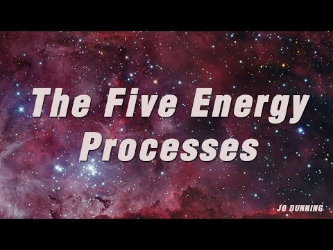The Five Energy Processes - Jo Dunning