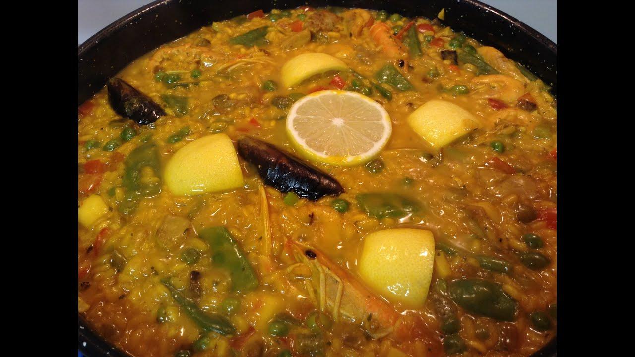 Paella receta original for Cocina valenciana