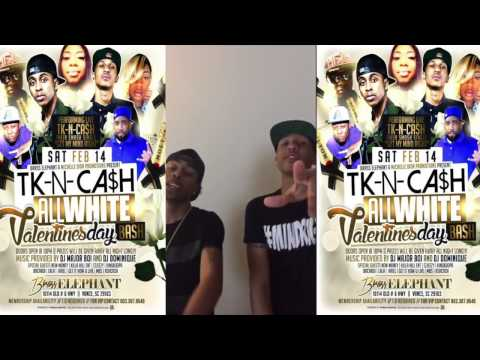 TK N CASH LIVE @ BRASS ELEPHANT SAT. FEB. 14TH