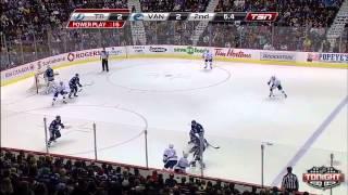 Canucks vs Lightning Highlights 1/1/14