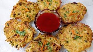 Quick & Delicious Potato Pancakes-Easy Potato Pancakes Recipe-Tea Time Snack-Cooking with Shabana