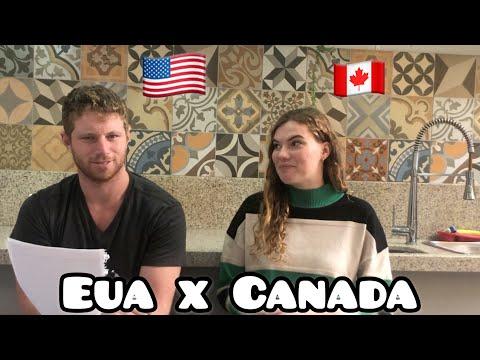 10 DIFERENÇAS entre Estados Unidos e CANADA não somos IGUAIS