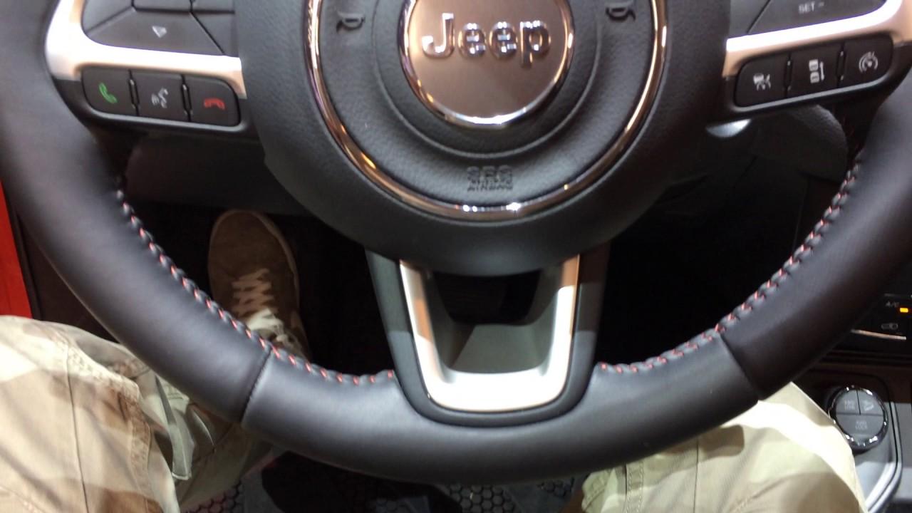 Jeep compass nuovo 2017 interni salone di ginevra for Interni salone