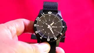Обзор. Настоящие военные армейские часы Traser P6600 Type 6 MIL-G Sapphire. Где купить.