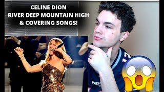 CELINE DION - RIVER DEEP MOUNTAIN HIGH! CELINE COVERING SONGS! REACTION!